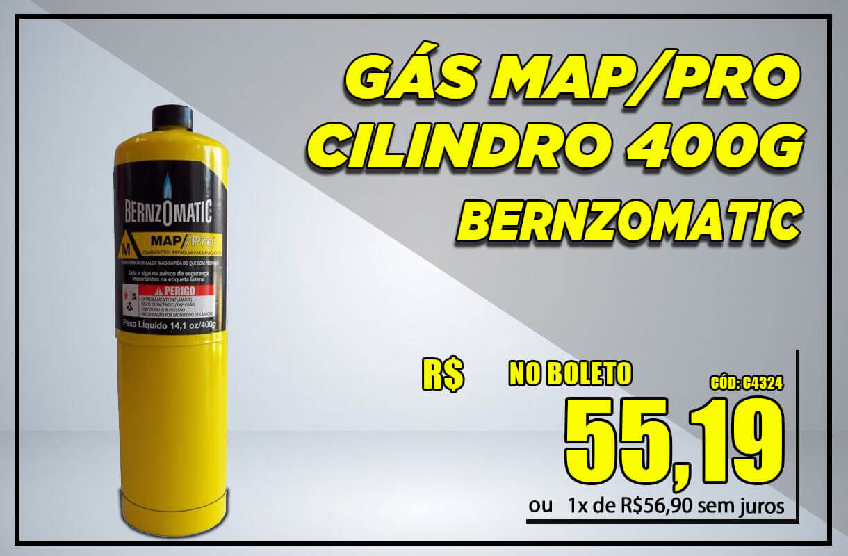 Gás Map/Pro Cilindro
